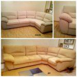 Обивка угловых диванов любой сложности