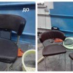 Перетяжка (обивка) стульев
